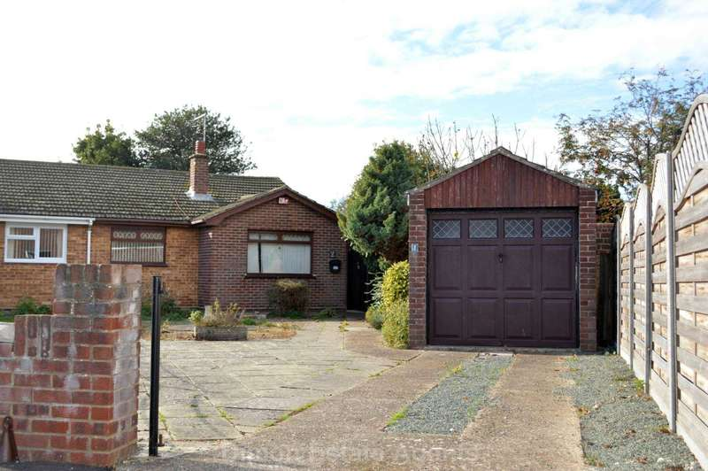 2 Bedrooms Semi Detached Bungalow for sale in Ingledene Close, Gosport