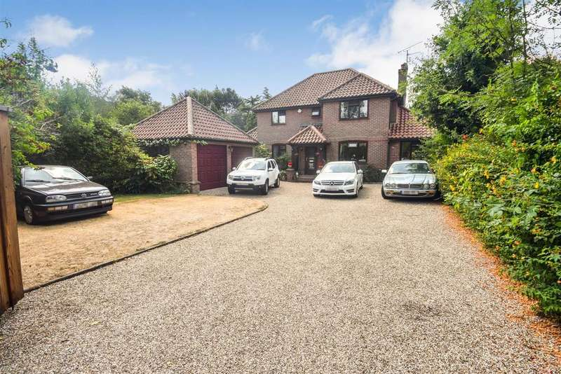 4 Bedrooms Detached House for sale in Wignall Street, Lawford