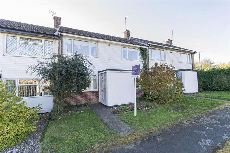 2 Bedrooms Terraced House for sale in Grasscroft Close, Chesterfield