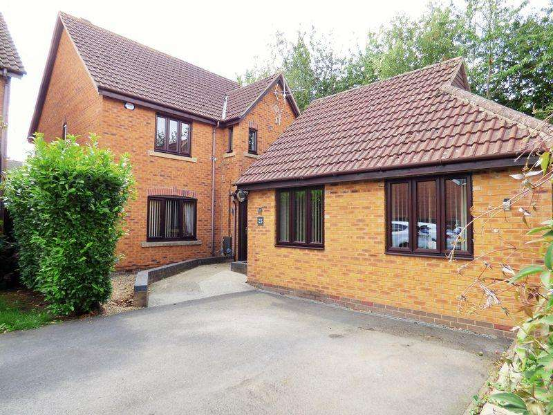 5 Bedrooms Detached House for sale in The Larches, Abbeymead, Gloucester