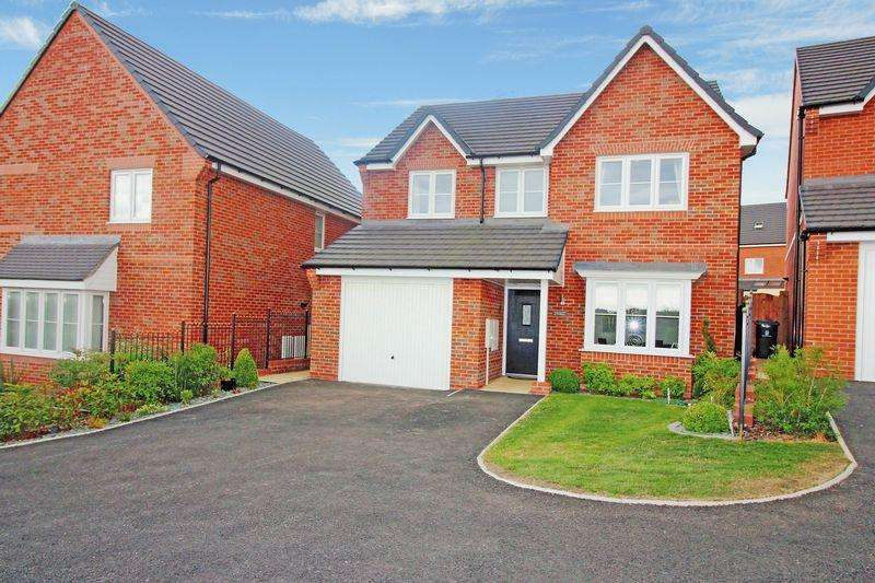 4 Bedrooms Detached House for sale in Fernilee Close, Brindley Village,STOKE ON TRENT