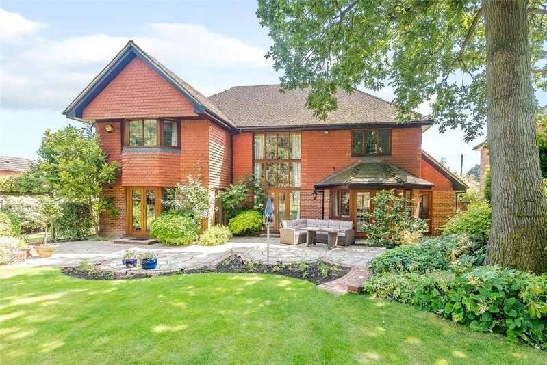 4 Bedrooms Detached House for sale in Hampstead Norreys Road, Hermitage, Thatcham, Berkshire, RG18