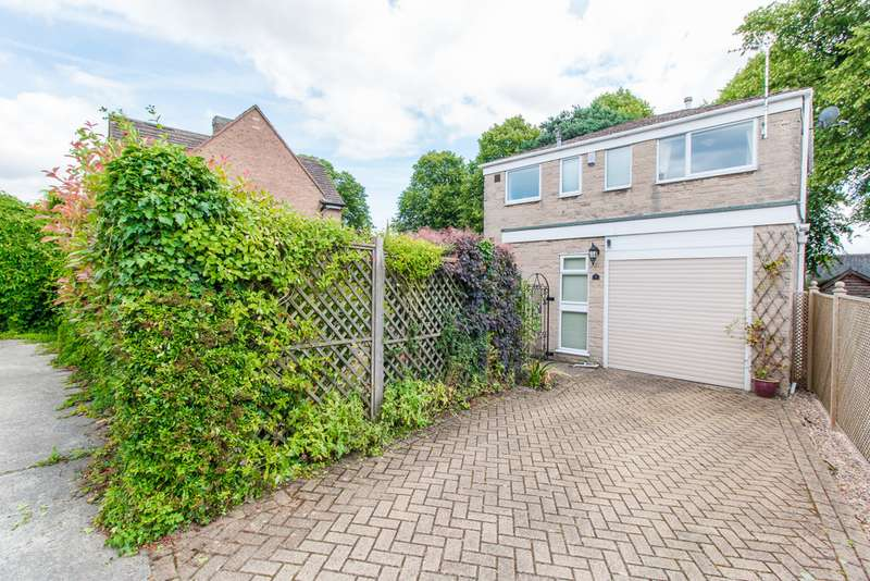 3 Bedrooms Detached House for sale in Vicarage Close, Heath S44