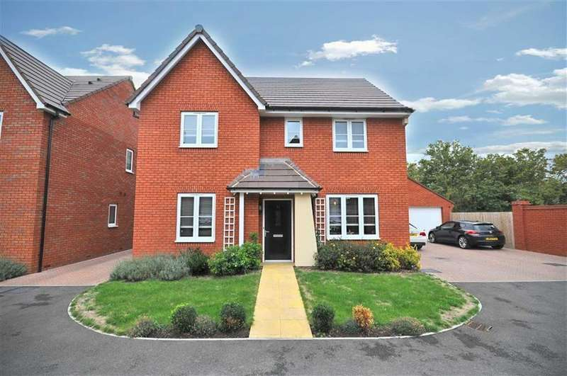 4 Bedrooms Detached House for sale in Greenwood Drive, Cheltenham, Gloucestershire
