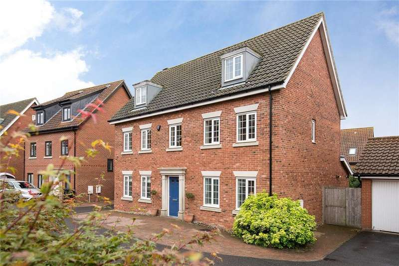 5 Bedrooms Detached House for sale in Poppy Close, Cringleford, Norwich, Norfolk, NR4