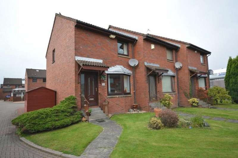 2 Bedrooms End Of Terrace House for sale in Broomfauld Gardens, Dumbarton G82 2LB