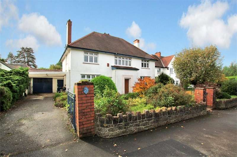 4 Bedrooms Detached House for sale in Llandennis Avenue, Cyncoed, Cardiff