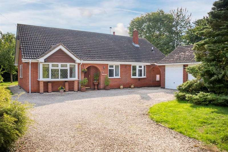 4 Bedrooms Bungalow for sale in Snarestone Road, Newton Burgoland