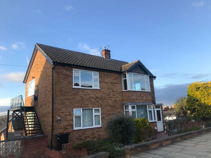 2 Bedrooms Flat for rent in Whitby Crescent, Woodthorpe, Nottingham