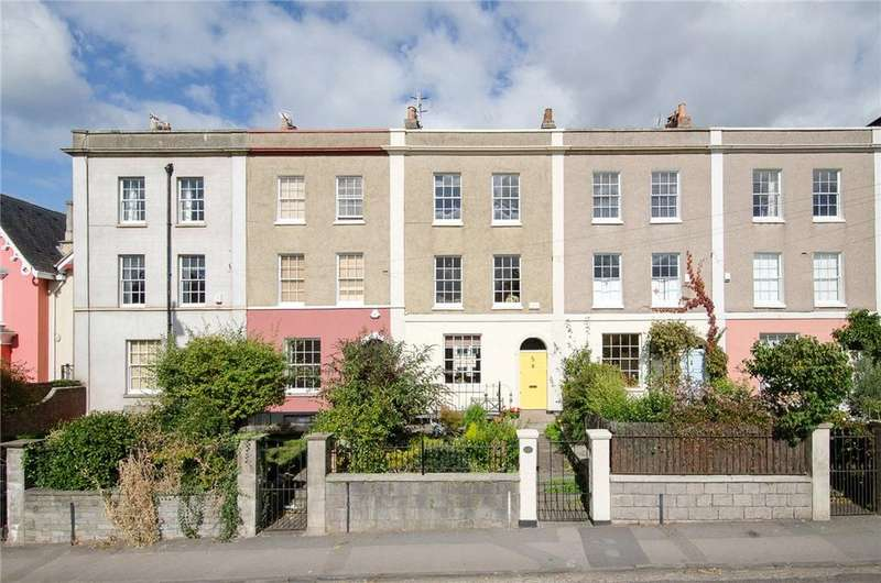 4 Bedrooms Terraced House for sale in Cumberland Road, Bristol, BS1