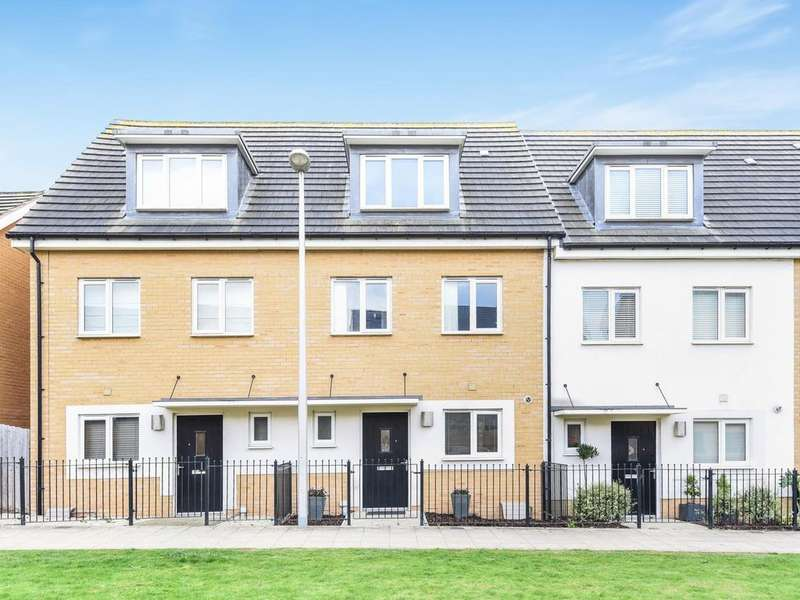 3 Bedrooms Town House for sale in Longships Way, Reading, RG2