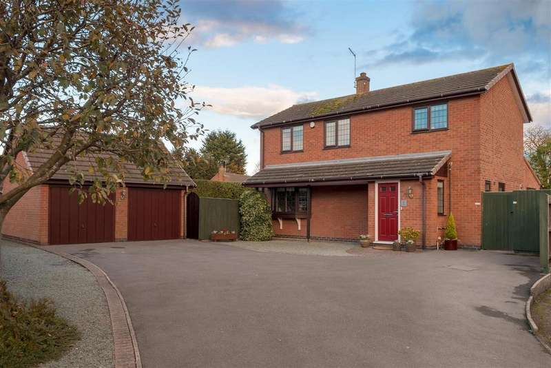 4 Bedrooms Detached House for sale in The Meadow, Broughton Astley