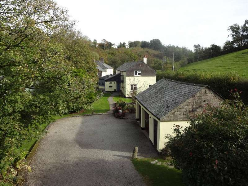 4 Bedrooms Detached House for sale in Old Mill, Stoke Climsland
