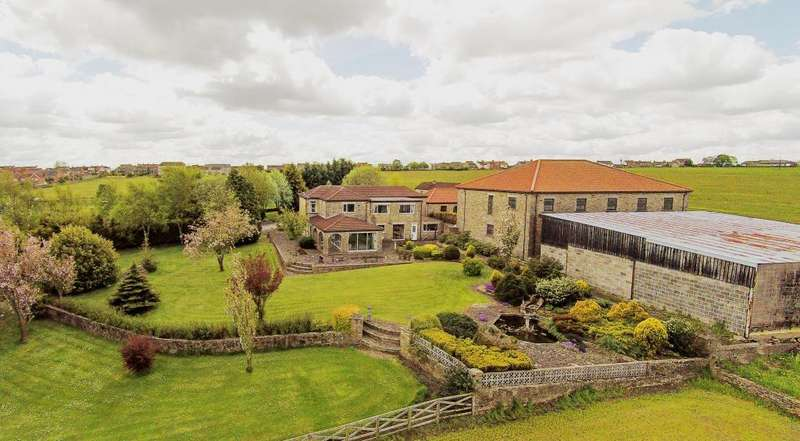 5 Bedrooms Detached House for sale in Holme FarmHouse, Toft Hill, DL14 0QQ