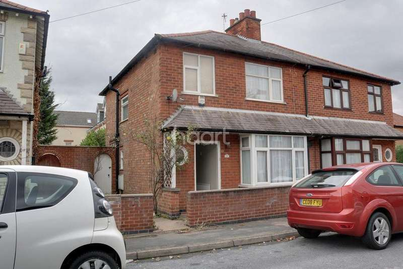 3 Bedrooms Semi Detached House for sale in Salisbury Street, Loughborough