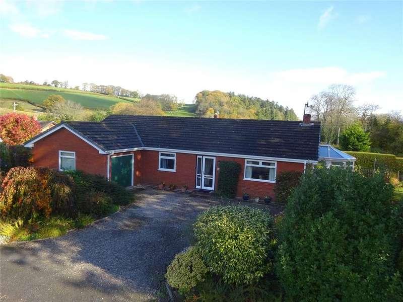 3 Bedrooms Detached Bungalow for sale in Slough Lane, Presteigne, Powys