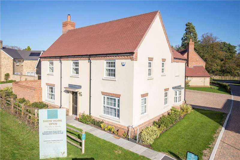 5 Bedrooms Detached House for sale in Ravens Forge, Bishopstone Road, Stone, Buckinghamshire