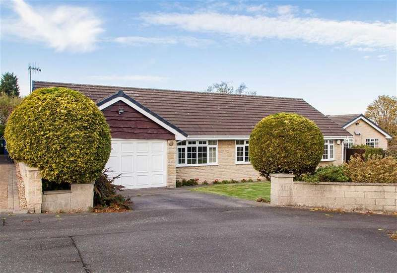 3 Bedrooms Detached Bungalow for sale in Whitebank Close, Hasland, Chesterfield, Derbyshire, S41