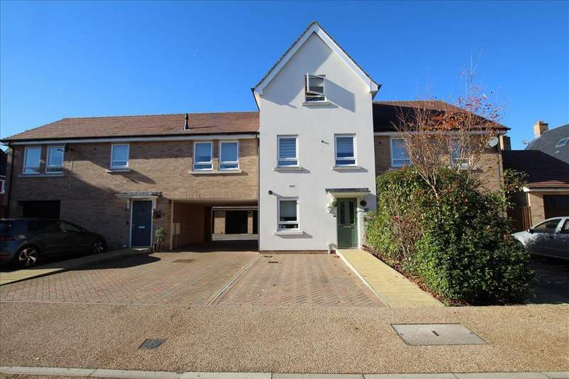 3 Bedrooms Terraced House for sale in Pluto Drive, Biggleswade, SG18