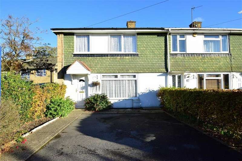 3 Bedrooms End Of Terrace House for sale in Buckingham Drive, Emmer Green, Reading