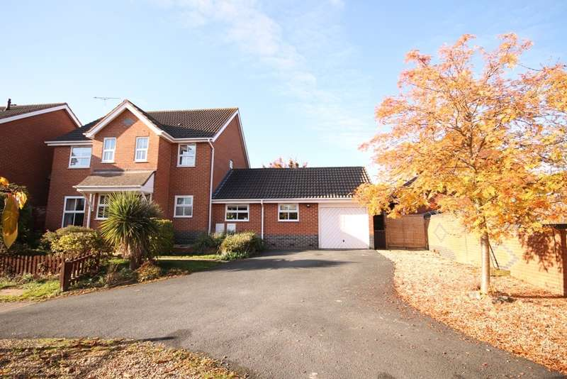 4 Bedrooms Detached House for sale in McCormick Avenue, Worcester, WR4