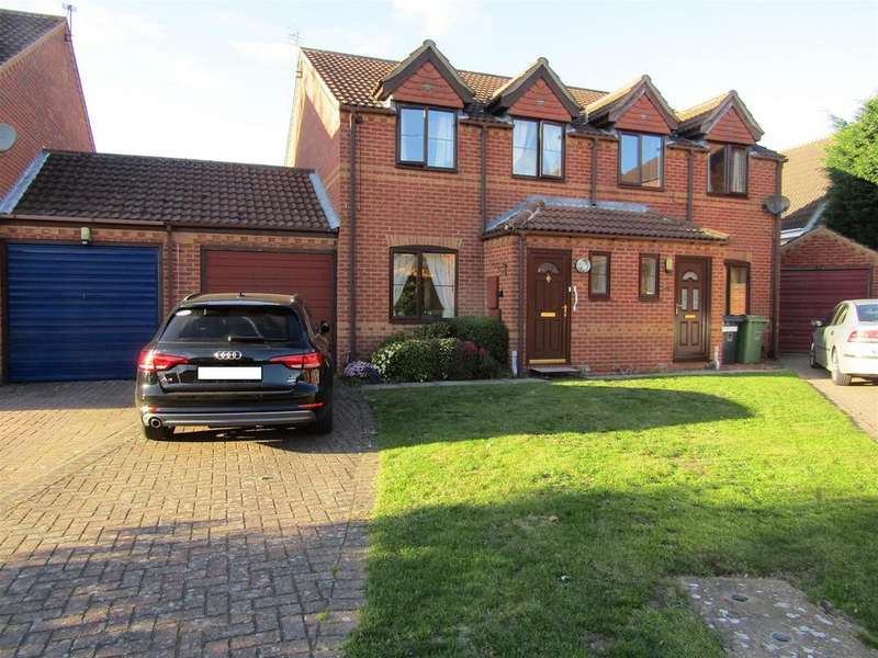 3 Bedrooms Semi Detached House for sale in Anderson Way, Lea, Gainsborough, DN21 5EF
