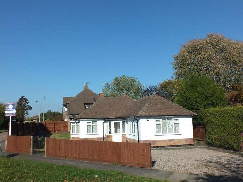 3 Bedrooms Bungalow for sale in Uppingham Road, Leicester