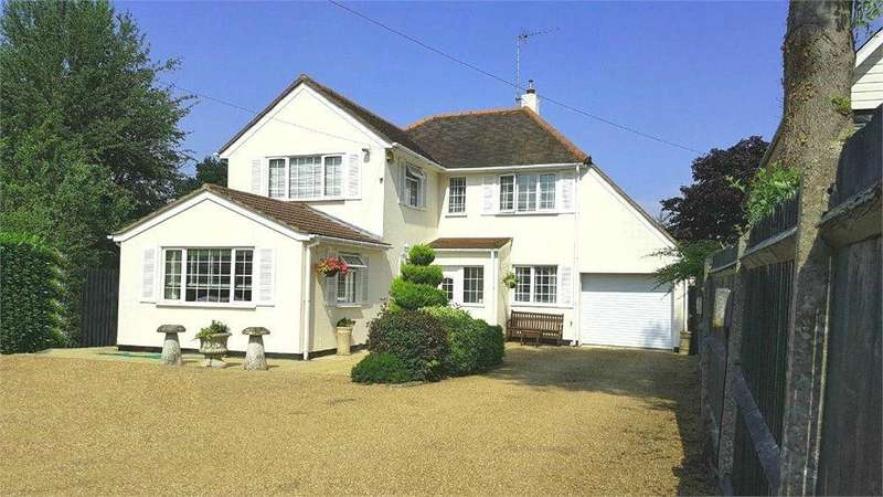 4 Bedrooms Detached House for sale in Woolmers Lane, Letty Green