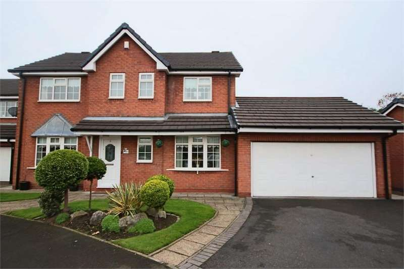 4 Bedrooms Detached House for sale in Harts Farm Mews, LEIGH, Lancashire