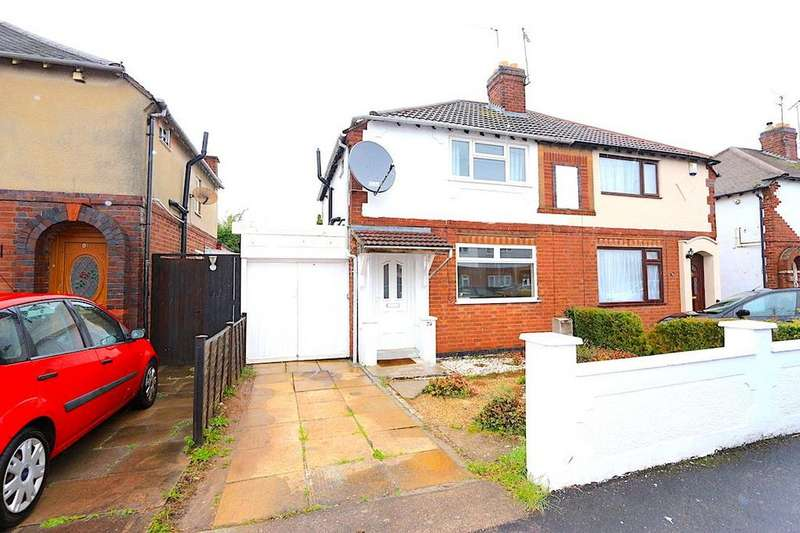 3 Bedrooms Semi Detached House for sale in Kingston Avenue, Wigston