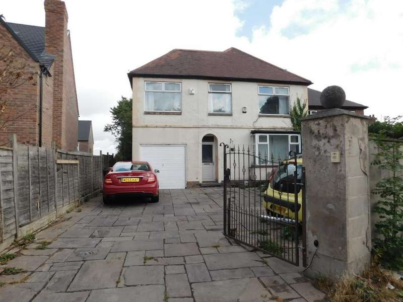 4 Bedrooms Detached House for sale in Ashby Road, Woodville, DE11