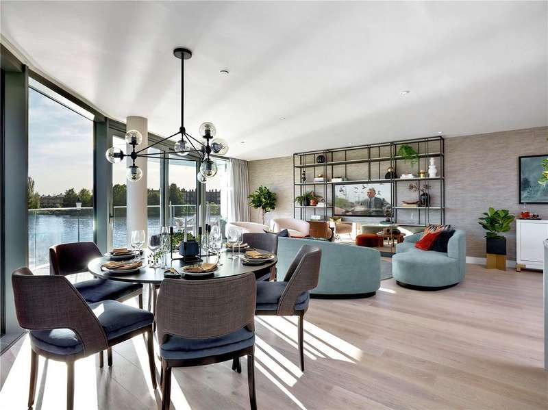 2 Bedrooms Apartment Flat for sale in Fulham Reach, Distillery Wharf, Parr's Way, Hammersmith, W6