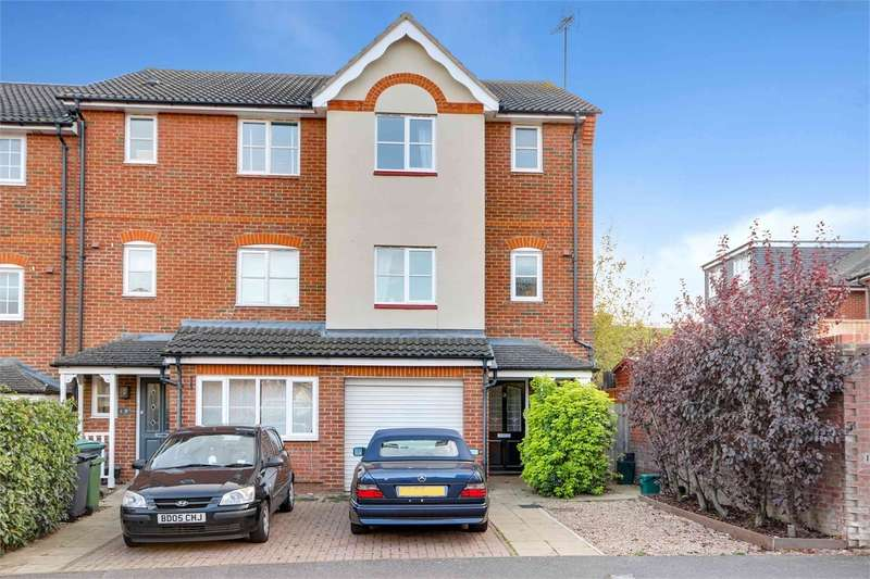 4 Bedrooms End Of Terrace House for sale in Osier Crescent, Muswell Hill, London