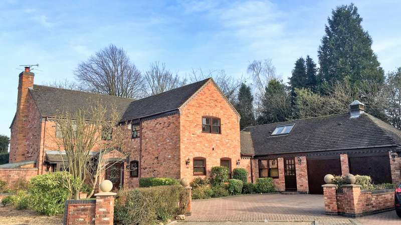 5 Bedrooms Detached House for sale in Bramley Orchard, Bushby, LE7