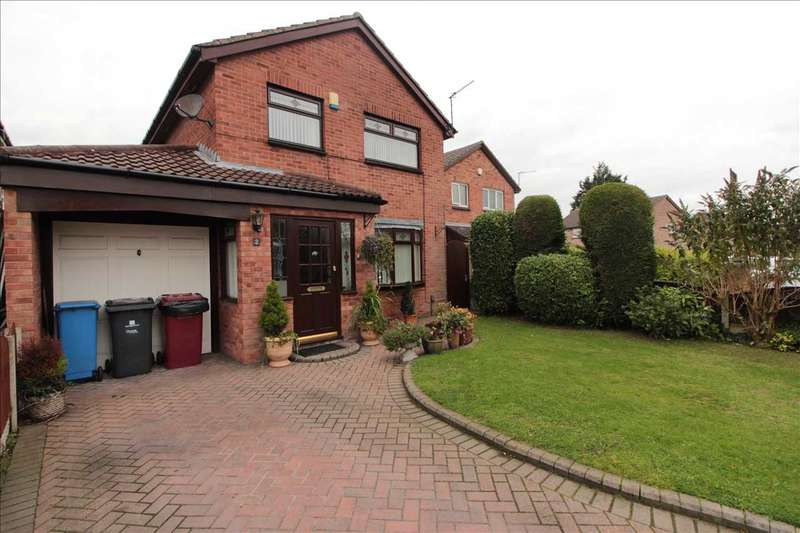 4 Bedrooms Detached House for sale in Dumfries Way, Kirkby