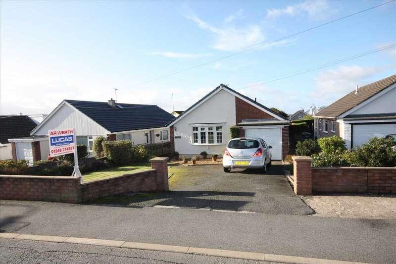 3 Bedrooms Detached Bungalow for sale in Brynteg, Llandegfan