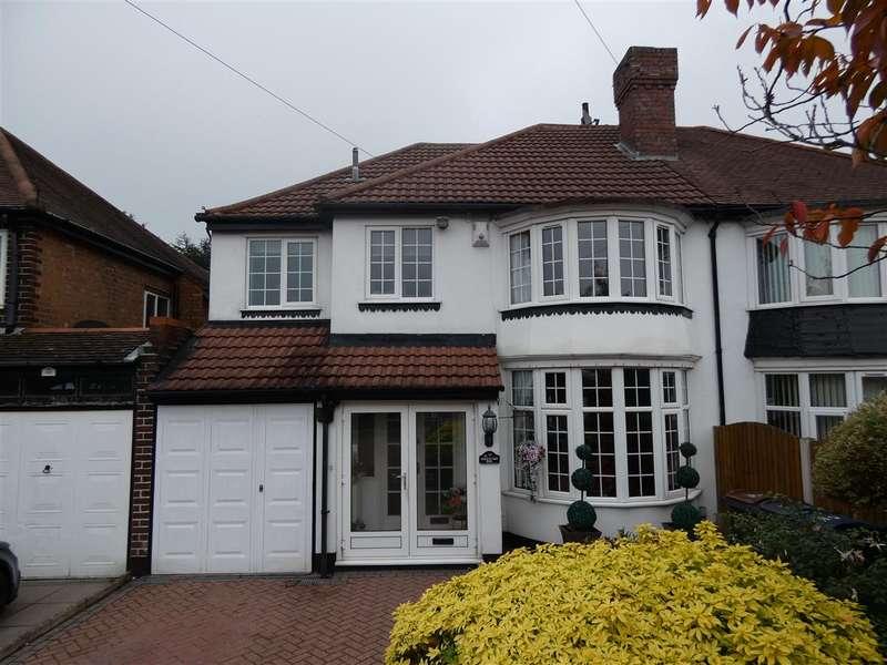 4 Bedrooms Semi Detached House for sale in Sedgemere Road, Yardley, Birmingham