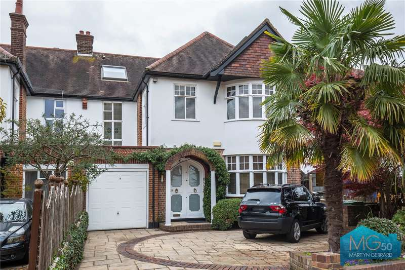 5 Bedrooms Semi Detached House for sale in Bancroft Avenue, East Finchley, London, N2