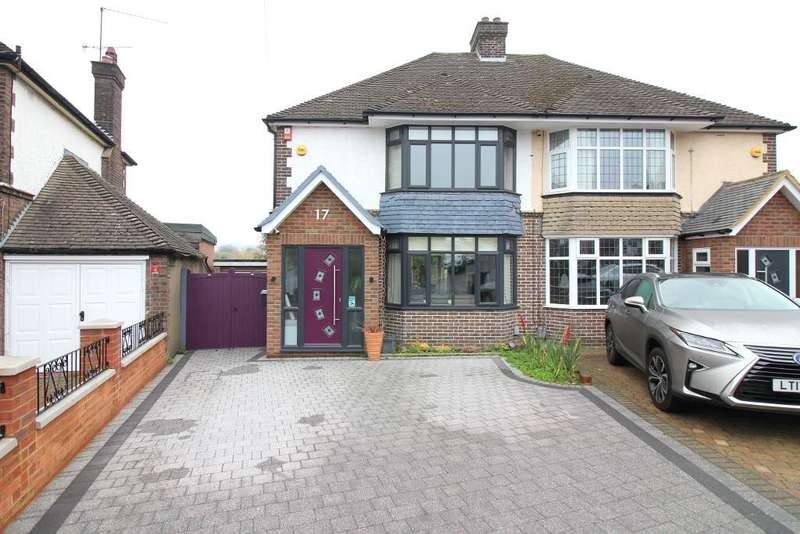 3 Bedrooms Semi Detached House for sale in Graham Gardens, Luton, Bedfordshire, LU3 1NF