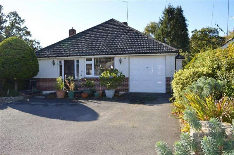 3 Bedrooms Detached Bungalow for sale in Paget Close, Wimborne, Dorset
