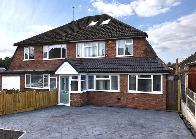 4 Bedrooms Semi Detached House for sale in Goodwyn Avenue, Oldbury