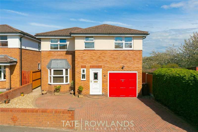 4 Bedrooms Detached House for sale in Bryn Glas, Flint, Flintshire, CH6