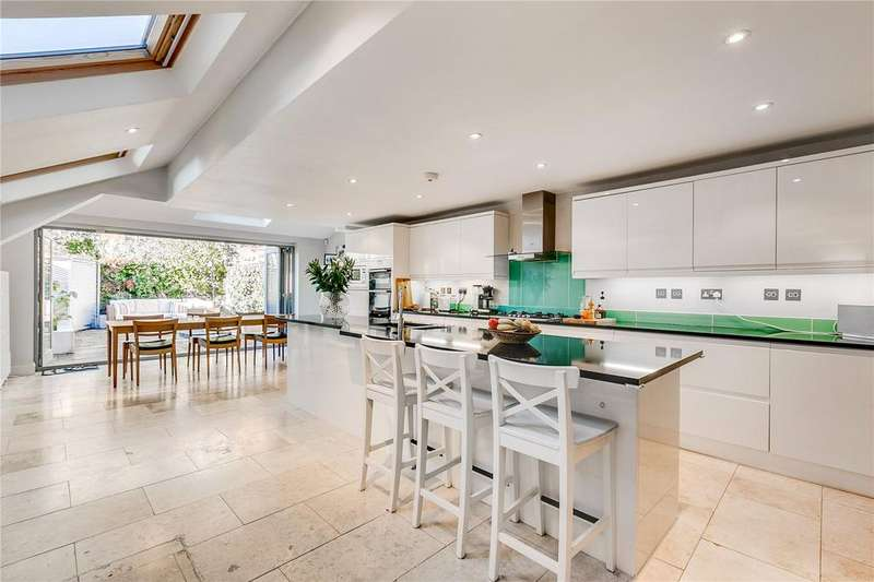 5 Bedrooms Terraced House for sale in Chaldon Road, Fulham, London