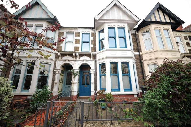 4 Bedrooms Terraced House for sale in Roath Court Road, Roath, Cardiff, CF24