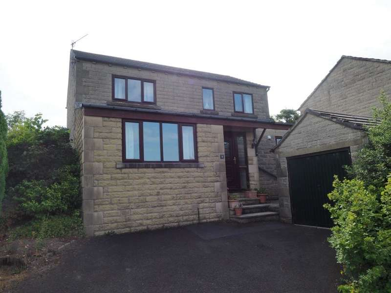 4 Bedrooms Detached House for sale in Maybank Close, New Smithy, Chinley, High Peak, Sk23 6EH