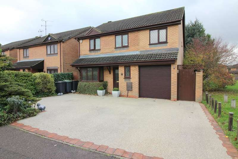 5 Bedrooms Detached House for sale in Holford Way, Luton, Bedfordshire, LU3 4EA