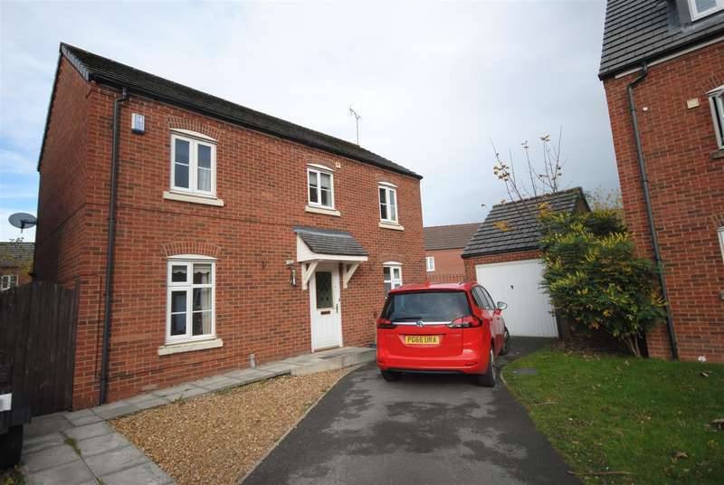 3 Bedrooms Detached House for sale in Chatsworth Gardens, Spring View, Wigan