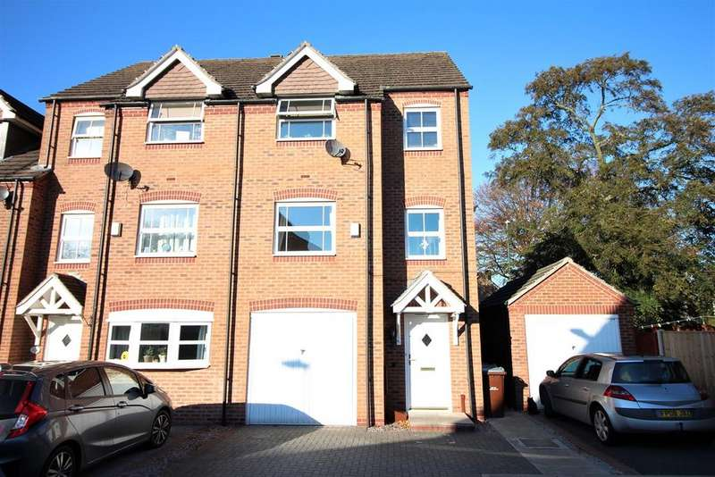 4 Bedrooms Town House for sale in Rowans Crescent, Nottingham, NG6