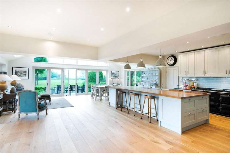 5 Bedrooms Detached House for sale in Berwick, Nr Lewes, East Sussex