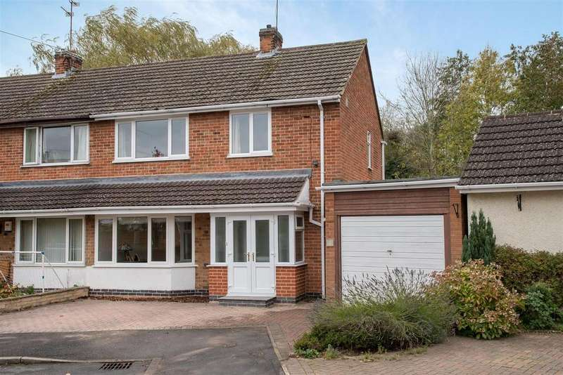 3 Bedrooms Semi Detached House for sale in Brook Close, Packington